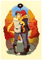 The Fall is When I Fell For You by tabby-like-a-cat