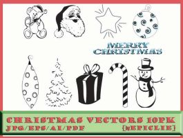 EpicLie_Christmas Vectors 10pk by EpicLie