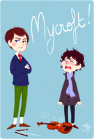 Mycroft by Cheeky-Bee