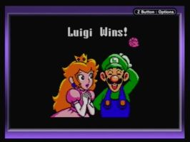 Luigi wins by MarioLuigi25