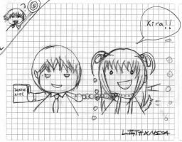 misa obsetion kira XD by southparkgirl13
