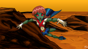 Teen Titans - Miss Martian 2.0 by UltimeciaFFB