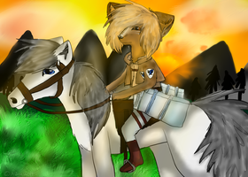 ~ We are hunters and they are prey ~ by Aguashida