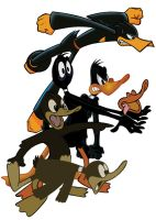 Daffy Duck Evolution by BoscoloAndrea