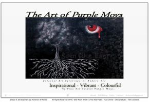 'The Art Of Purple Moya' Web Application - 003a by aktell