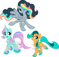 Mare Pony Adoptables 4 by Sakuyamon