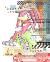 Colourful Knux by tabiki999