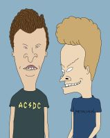Beavis and Butthead by Chemik91
