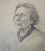 old woman by marchetooo