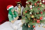 Xmas with Makishima by jyudaime