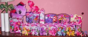My Little Pony FiM Collection 12-11-11 by ShroudofShadows