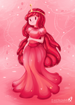 Princess Bubblegum by Klar-Jezebeth