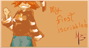 My first iscribble by thisbemoo