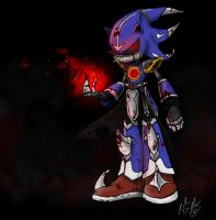 Demented Neo Metal Sonic by DoodleScout