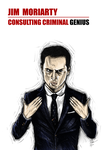 Jim Moriarty: Consulting Criminal Genius by The-13th-Doctor