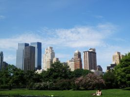Central park by Arbelwen