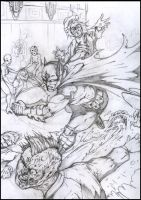 Bat goes MAD - pencil variant by SaintYak