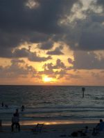 Sunset on the Beach by Bethany1994