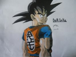 Dragonball Z - Son Goku by TriiGuN