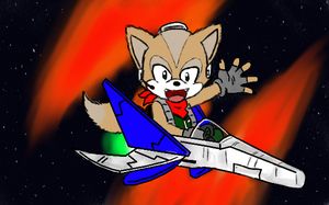 010 - Fox McCloud by pocket-arsenal