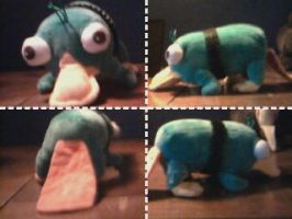 Perry the Stuffed-Animal by RyanPhantom