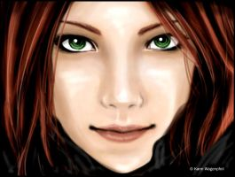 Lily Evans by Glaciens