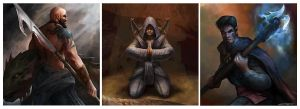 Online Game Characters 2 by stevegoad