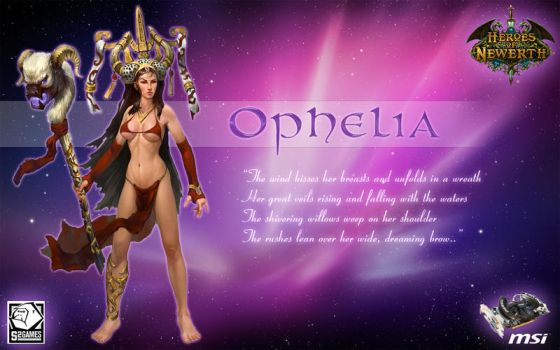 Ophelia by go4brendon