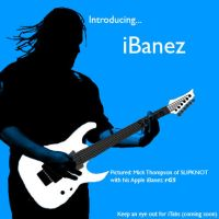 ipod silouhette art.... iBanez by DarkPhoenixFri13