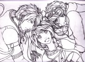Love Triangle (line) by Hitomi-Jchan