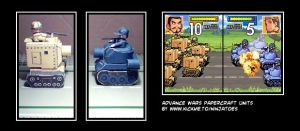 Advance Wars papercraft by ninjatoespapercraft