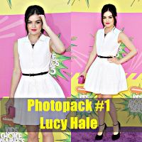 Photopack #1 Lucy Hale by claudiafigueroamarin
