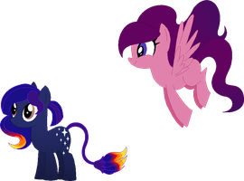 Maneswap - Galaxy and Fluff by Laser-Pancakes
