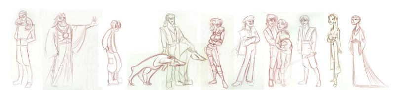 Heir to the Empire cast edit 1 by GoblinQueeen
