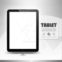 my tablet wallpaper presentation - version 2 by MadeInKobaia