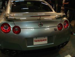 Nissan GT-R Rear by Zenix13
