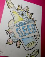 BEER! by kittyangelprincess