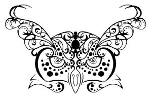 Owl Tribal/Henna Tattoo Design by rumpelstilzchen