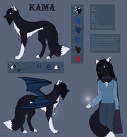 Kama character sheet 2.0 by kamciara