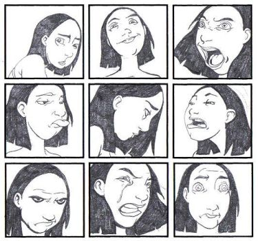 Expression practice by Rashomonchb