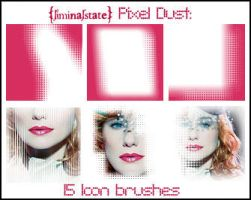 Pixel Dust Icon Brush Set by liminalstate