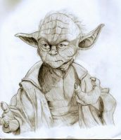 Yoda by thenubi