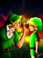 Link and the Elegy of Empitiness by GuilhermeDB