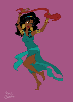 ...and Dancer Esmeralda as Moses's Wife Tzipporah by LizzyChrome