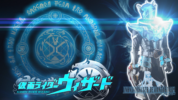 Kamen Rider Wizard Infinity Style Wallpapeer by UnknownChaser