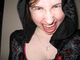 Hooded Scream - Woman by WittlePanther