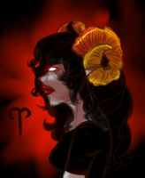 Crappy Aradia doodle by EvaLove1