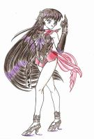 Sailor Dark Mars by FFSummoner