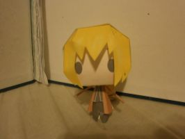 Edward Elric papercraft by sabrynaM