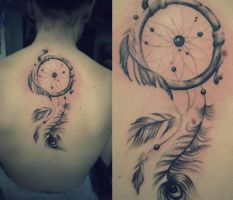 not so gay dream catcher by phoenixtattoos